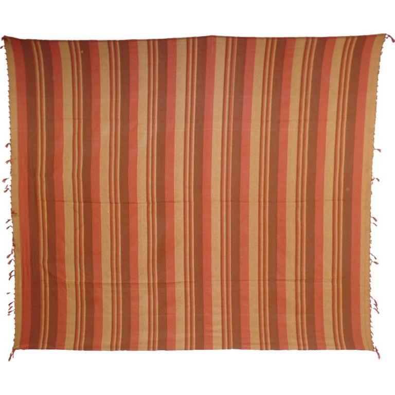 Tenture ray e bicolore - Coussin tapissier grand format ...