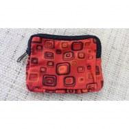 Porte-monnaie rouge square