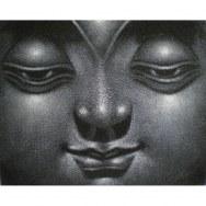 Petit tableau le sourire de Bouddha I