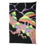 Paréo fluorescent champis verts