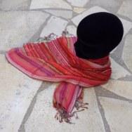 Foulard rayé désert du Jaipur Kanpur