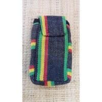 Pochette portable weaving africa rasta