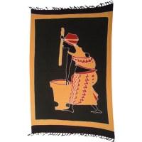 Mini tenture lombok la femme au pilon 2
