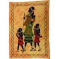Tentures africaines, ethniques, aborigènes, primitives, batik