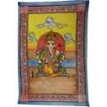 Tenture Bouddha, divinités hindoues