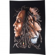 Petite tenture Bob Marley le lion