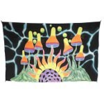 Paréo fluorescent mushroom solaire