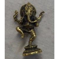 Miniature du dieu Ganesh dansant