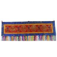 Bannière tibétaine kalachakra