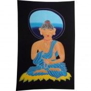 Batik Bouddha auréolé