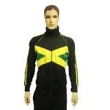 Veste drapeau jamaïcain