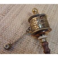 Moulin à prières petit modèle 3 mantra