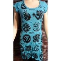 Mini robe bleue Aum