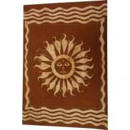 Tenture batik soleil