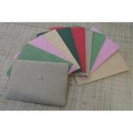 Papier à lettre et 10 enveloppes color