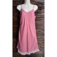 Robe longue d'été rose