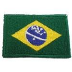 Patch drapeau Brésil