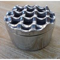 Cendrier métallique rond