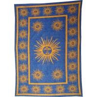 Tenture bleu denim sunny