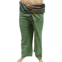 Pantalon thaï revers lignes Koh Samui