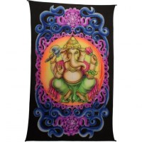 Tenture fluo Ganesh