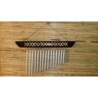 Carillon bambou et osier