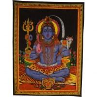 Tenture peinte Shiva