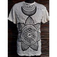 Tee shirt Sure blanc fleur de vie