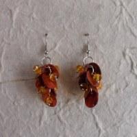 Pendants d'oreilles See orange