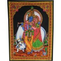 Petite tenture Shiva et Parvati