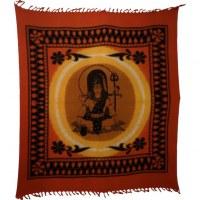 Maxi tenture potiron dieu Shiva et son trident