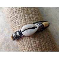 Bracelet macramé shell 5