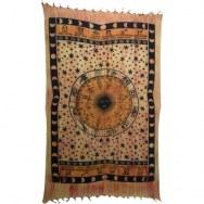 Tenture orange astrologia