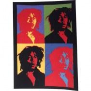 Mini tenture Bob Marley pop art