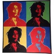 Tenture maxi Bob Marley pop art