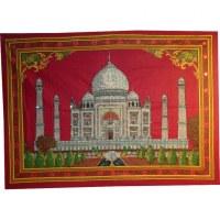 Petite tenture bordeaux Taj Mahal
