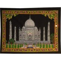 Petite tenture noire Taj Mahal