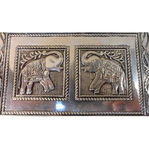 Coffre à bijoux les 2 éléphants