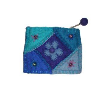 Porte monnaie Simikot bleu