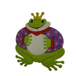 Miroir sa majesté grenouille