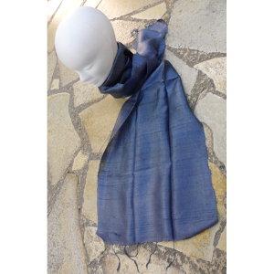 Foulard Isan soie grise