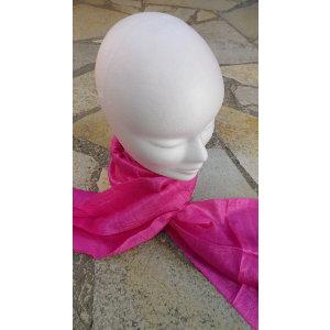 Foulard Isan soie rose