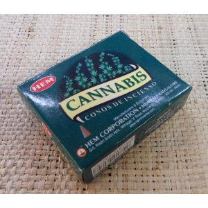 Cônes d'encens cannabis