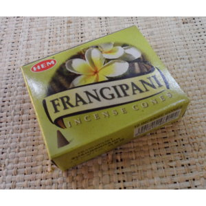Cônes d'encens frangipanier