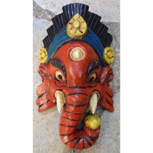 Masque rouge Bhalachandra