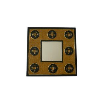 Miroir carré 8 sapèques