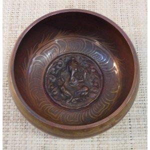 Bol tibétain gravé Ganesh