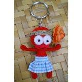 Porte clés Tamara la danseuse de tamuré