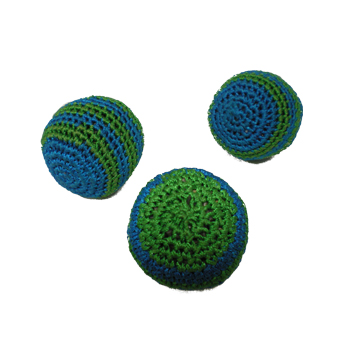 Set de 3 balles de jonglage