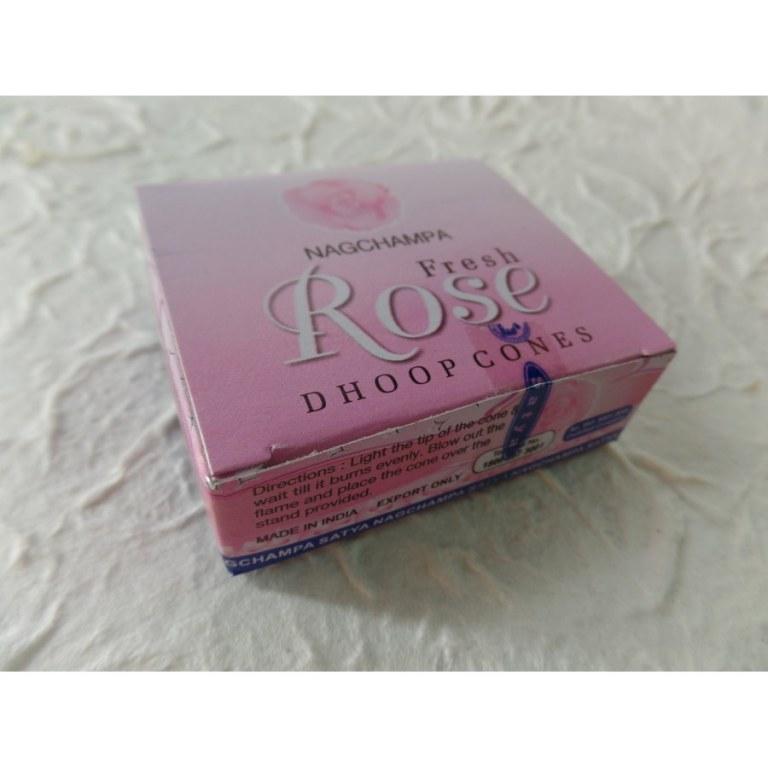 Cônes d'encens nag champa rose